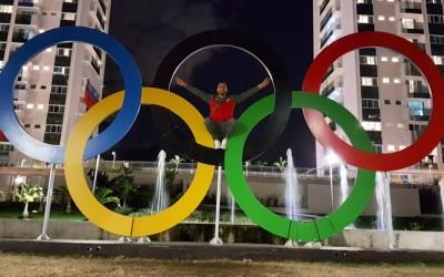 Sebas Martos, preparado para vivir el sueño olímpico