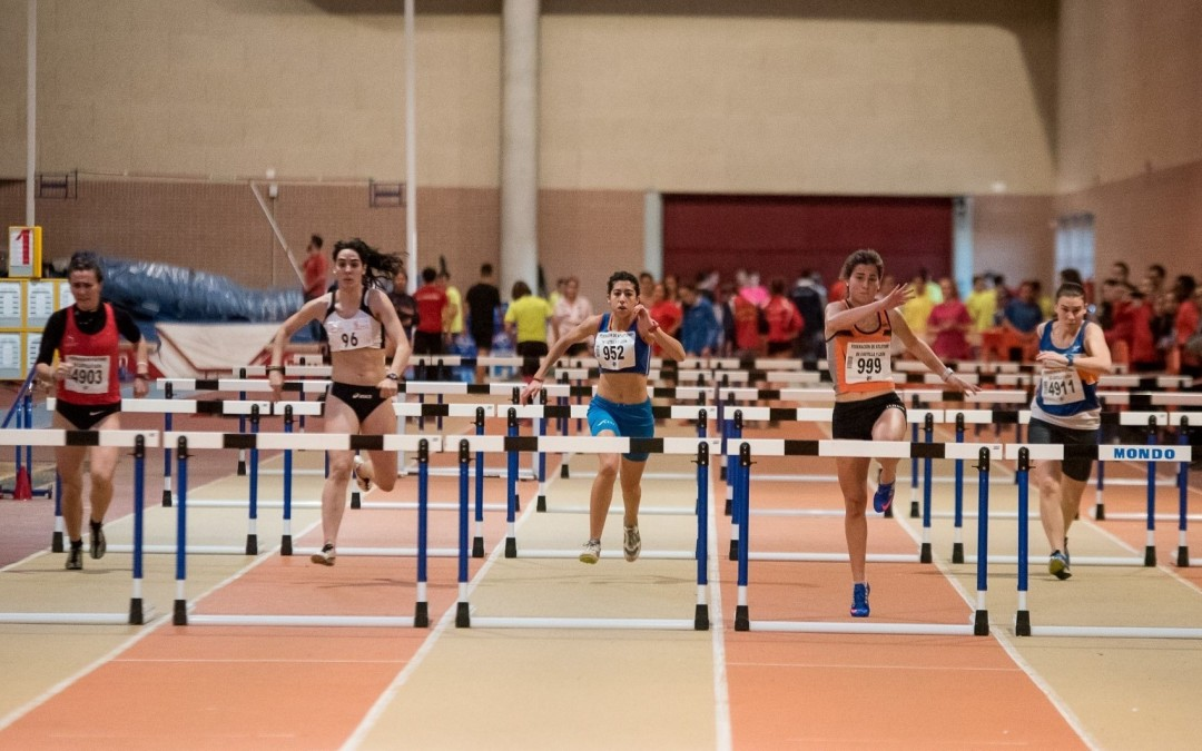 Calendario de competiciones invernales de atletismo en el CAR de León