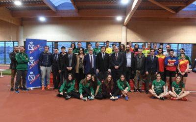 El Presidente del Consejo Superior de Deportes visita el CAR de León