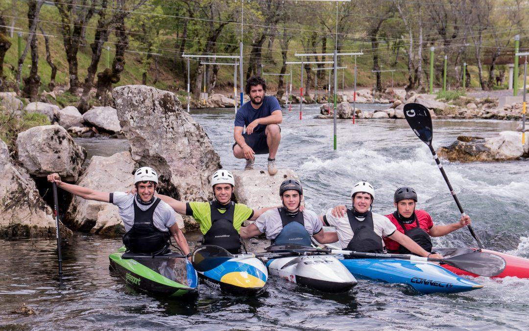 Grupo de entrenamiento slalom (Real Federación Española de Piragüismo)